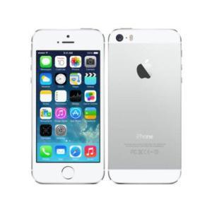 [再生新品]海外SIMシムフリー版 Apple iPhone5S シルバー(ホワイト白)16GB シ...