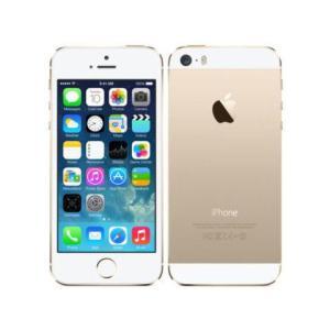 [再生新品] 海外SIMシムフリー版 Apple iPhone5S ゴールド32GB シムフリー[送...