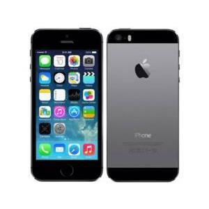 [再生新品] 海外SIMシムフリー版 Apple iPhone5S スペースグレイ32GB シムフリ...