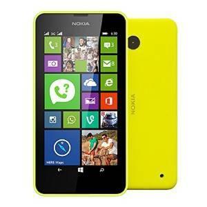 海外シムフリー(デュアルSIM) Nokia Lumia630 イエロー黄 4.5インチ 日本語対応Windows8 OS DualSIMフリー|bestsupplyshop