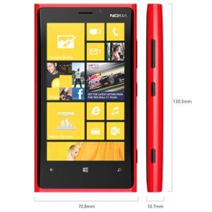 新品 Nokia Lumia 920 LTE版 赤レッド 日本語対応Windows8 OS SIMフリー海外SIMシムフリー|bestsupplyshop