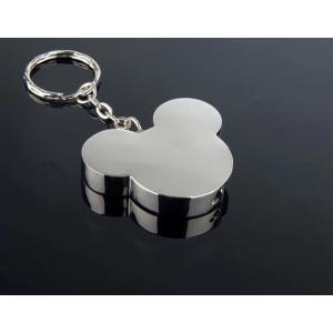 ミッキーマウス型 メタル USBフラッシュメモリー USB2.0 16GB シルバー [商品コード155]|bestsupplyshop