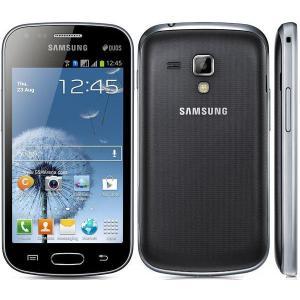 [送料無料] 再生新品 海外SIMフリー Samsung Galaxy S Duos S7562 黒ブラック / DualデュアルSIM|bestsupplyshop