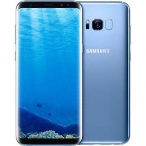 [再生新品]海外SIMフリー Samsung Galaxy S8 G950 SIMフリースマートフォン 64GB 青ブルー / 送料無料|bestsupplyshop