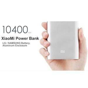 Xiaomi 大容量モバイルバッテリー10400mAh 5V 2.1A  シルバー iPhone、スマホを外出先で充電!|bestsupplyshop