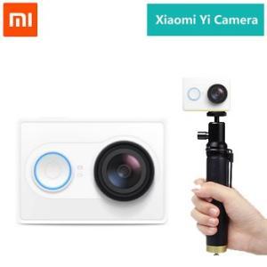 Xiaomi Yi 小米アクションスポーツカメラ Action Camera ウェアラブルアクションカム (ホワイト白)+撮影用ポール|bestsupplyshop