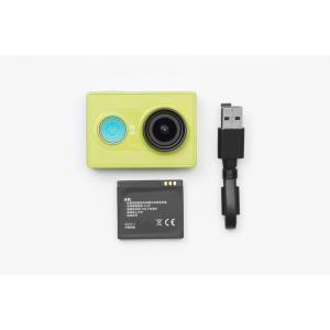 Xiaomi Yi 小米アクションスポーツカメラ Action Camera ウェアラブルアクションカム (イエロー黄色)|bestsupplyshop