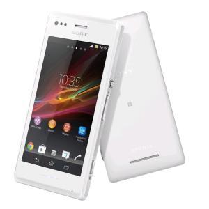 [再生新品]海外シムフリー Sony Xperia M (C1905/C1904) 4GB 白ホワイト 低価格SIMフリースマートフォン本体 / 送料無料 bestsupplyshop