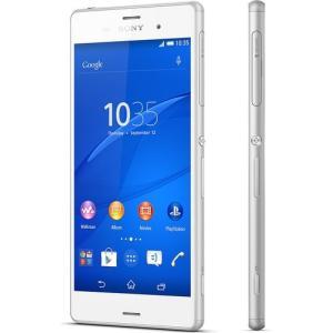 [送料無料] Sony XPERIA Z3 D6603本体 LTE版 (ホワイト 白) 海外SIMシムフリー版