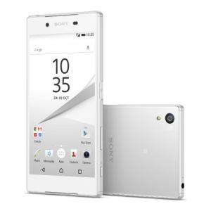 海外SIMシムフリー版 Sony XPERIA Z5 E6653 本体 32GB (白ホワイト)[送料無料]