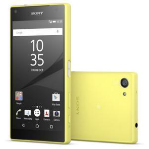 [送料無料] 新品 海外SIMシムフリー版 Sony XPERIA Z5 Compact E5823(SO-02H)本体 32GB (イエロー 黄)