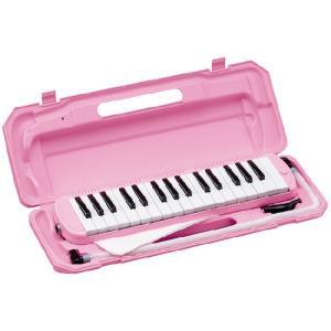 鍵盤ハーモニカ メロディーピアノ/P3001-32K/カラー:ピンク/KC/キョーリツ【ハーモニカ】|beta-music