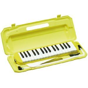 鍵盤ハーモニカ メロディーピアノ/P3001-32K/カラー:イエロー/KC/キョーリツ【ハーモニカ】|beta-music