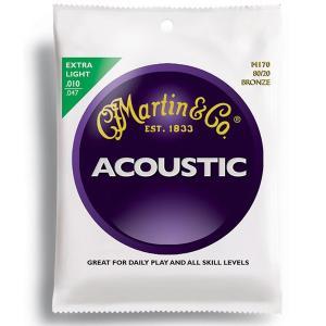 M-170/EXTRA LIGHT /Martin/マーチン【アコースティックギター弦】|beta-music