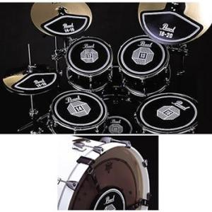 プラクティス・ラバーパッド/ドラム用5点セット Pearl/パール/RPS-50|beta-music