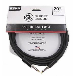 ケーブル/PW-AMSG-20(20ft/6.1m S-S)/American Stage Series Instrument cables beta-music
