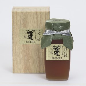 藤原養蜂場 日本蜜蜂の蜂蜜 たれみつ(550g) 日本ミツバチ 日本製  ギフト beta