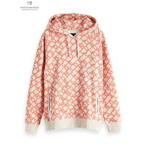 SCOTCH&SODA/スコッチ&ソーダ Club Nomade signature sweat hoody with artworks|bethel-by