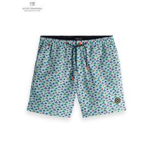 送料無料 SCOTCH&SODA/スコッチ&ソーダ Classic Colourful Swimshort Combo D L.BLUE bethel-by