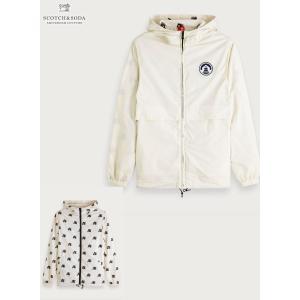 送料無料 SCOTCH&SODA/スコッチ&ソーダ Reversible Jacket OFF WHITE bethel-by