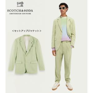 SCOTCH&SODA/スコッチ&ソーダ セットアップ ジャケット Pastel Melange Blazer 292-31710【160691】 bethel-by