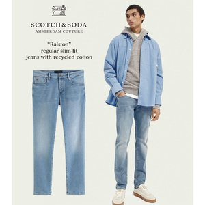 送料無料 SCOTCH&SODA/スコッチ&ソーダ スリムフィットデニム RALSTON - Regular Slim-Fit Recycled Cotton 292-35516【160438】 bethel-by