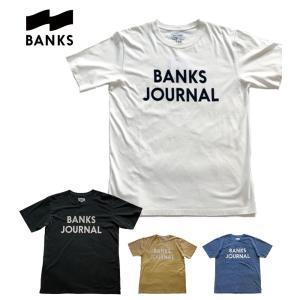 送料無料 BANKS JOURNAL/バンクスジャーナル プリントTシャツ JOURNAL 全4色 bethel-by