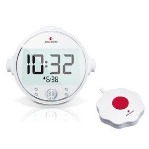 ベルマンアラームクロック プロ 強力振動+音+光の目覚し時計|better-hearing