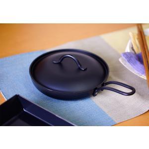 ミニパン 鉄製 どこでもミニパン16cm (蓋付) IH対応 サミット工業 一人用 送料無料