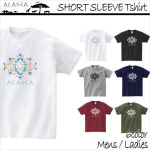 ALASCA Tシャツ メンズ 半袖 16-17 ALASCA スノーボード ショートスリーブ native レディース メール便可|betties-shop