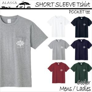 ALASCA Tシャツ メンズ 半袖 16-17 ALASCA スノーボード ショートスリーブ ポケット native レディース  メール便送料無料|betties-shop