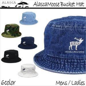 ALASCA 16-17 バケットハット スノーボード Moose メンズ レディース Alasca Moose BucketHat デニム 迷彩 カモフラ キャップ  メール便送料無料|betties-shop