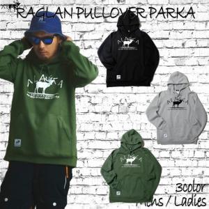 ALASCA パーカー スノーボード RAGLAN PULLOVER PARKA moose 2016-17 スノボー ウェア スノボ スキー 裏起毛 アラスカ メンズ レディース|betties-shop