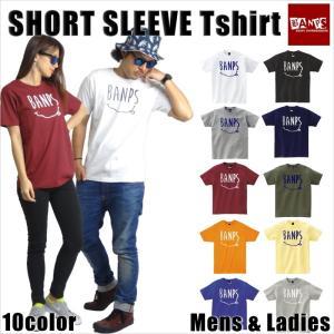 Tシャツ メンズ 半袖 15-16 BANPS ショートスリーブ smile レディース メール便送料無料|betties-shop
