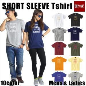 Tシャツ メンズ 半袖 15-16 BANPS ショートスリーブ smileSQ レディース メール便送料無料|betties-shop