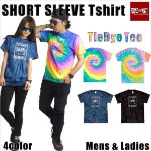 Tシャツ メンズ 半袖 15-16 BANPS ショートスリーブ タイダイ smileSQ レディース メール便送料無料|betties-shop