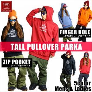 BANPS パーカー スノーボード TALL PULLOVER PARKA TR 2015-16 スノボー ウェア スノボ スキー 裏起毛 メンズ レディース BANPSSNOWBOARDING|betties-shop