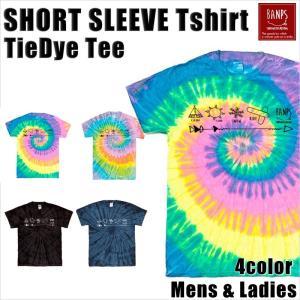 BANPS Tシャツ メンズ 半袖 16-17 ショートスリーブ タイダイ MK レディース BANPSSNOWBOARDING メール便送料無料|betties-shop