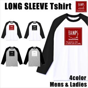 BANPS ラグラン ロングTシャツ メンズ 長袖 17-18 BANPS ロングスリーブ LG レディース メール便送料無料|betties-shop
