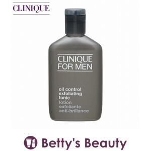 クリニーク フォーメン オイル コントロール エクスフォリエーティング トニック  200ml (化粧水)  CLINIQUE|bettysbeauty