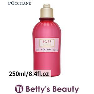 ロクシタン ローズ ベルベットボディミルク 新パッケージ 250ml/8.4fl.oz (ボディローション)  L'occitane bettysbeauty
