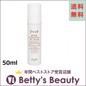 フレッシュ フレッシュ ローズ ハイドレーティングジェル クリーム  50ml (ナイトクリーム)  Fresh|bettysbeauty