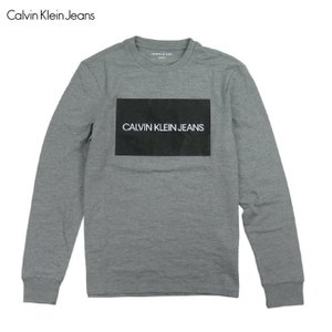 CALVIN KLEIN JEANSからロンT入荷です。 ボックス型デザインプリントの存在感抜群の一...