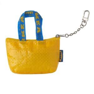 IKEA ミニポーチ イケア Sサイズ バッグ 財布 イエロー 50478259|bewide