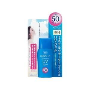 「専科 ミネラルウォーターでつくったUVジェル SPF50 40ml」は、紫外線防止効果と肌にやさし...