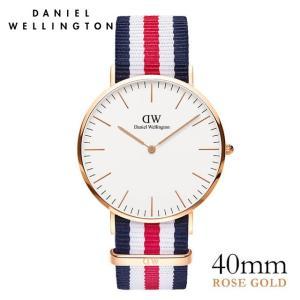 ダニエルウェリントン カンタベリー ローズ 40mm 腕時計 Classic Canterbury|beyondcool