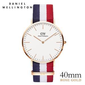 ダニエルウェリントン ケンブリッジ ローズ 40mm 腕時計 Classic Cambridge ★ポイント10倍|beyondcool