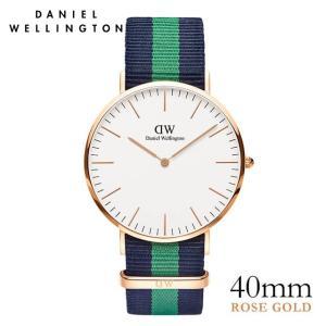 ダニエルウェリントン ウォリック ローズ 40mm 腕時計 Classic Warwick|beyondcool
