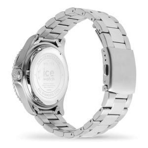 ICE-WATCH アイスウォッチ ICE steel - ブルー シルバー (ミディアム)|beyondcool|05