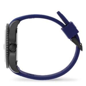 ICE-WATCH アイスウォッチ ICE steel - ブラック ブルー (ラージ)|beyondcool|04